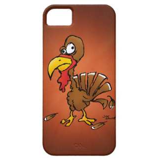 Funny Derp Turkey Cartoon iPhone 5 Case