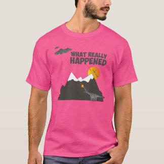 Funny Dinosaur extinction T-Shirt
