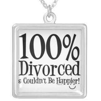 Funny Divorce  Necklace