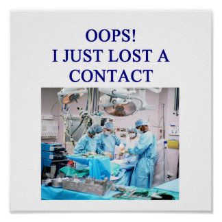 funny doctor humor poster
