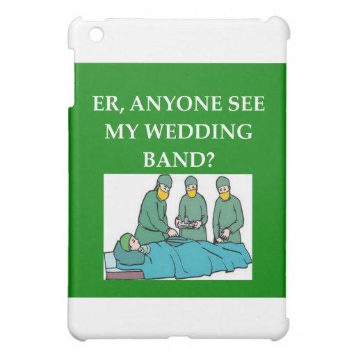(funny doctor joke iPad mini cover