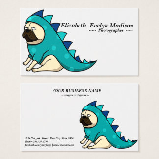 funny dog 0005 business card