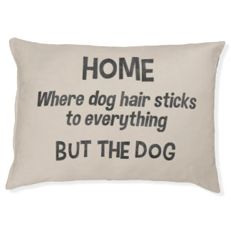 Funny dog bed Cute pet bed Choose background color
