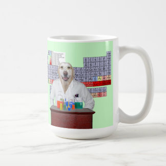 Funny Dog Biology/Chemistry Teacher's Mug