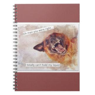 Funny Dog journal Notebooks