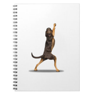 Funny Dog Spiral Notebook