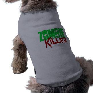Funny Dog Shirt Zombie Killer