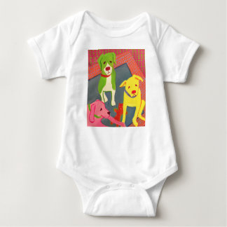Funny Dogs Baby romper Baby Bodysuit