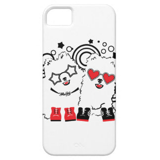 Funny dogs. Cute animal festive cool design Case For The iPhone 5
