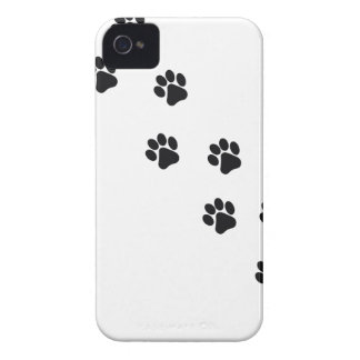 Funny dog's paw  print iPhone 4 cover