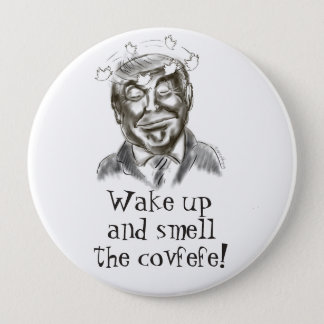 Funny Donald Trump Covfefe Dream 10 Cm Round Badge