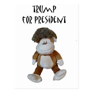 Funny Donald Trump for President Political Design Postcard