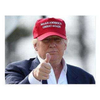Funny Donald Trump Post Card