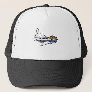 Funny Donald Trump Presidential Aeroplane Trucker Hat