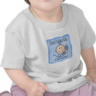 Funny Don't Make Me Call Mema T-shirts
