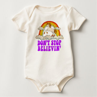 Funny Don't Stop Believin' in Unicorns T-shirts
