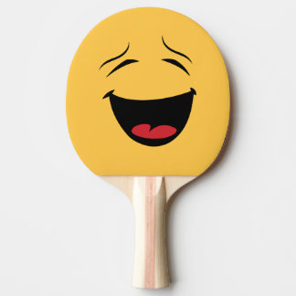 Funny Double Sided Happy Sad Ping Pong Bat Ping Pong Paddle