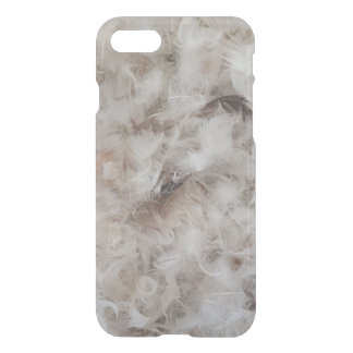Funny Down Comforter Bird Feathers Photography iPhone 8/7 Case