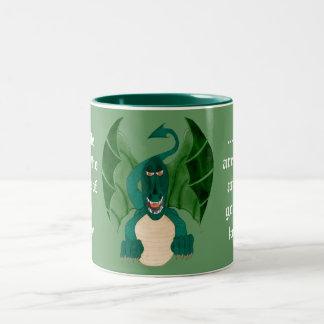 Funny Dragon Mug