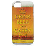 Funny drink beer and carry on iPhone 5 covers