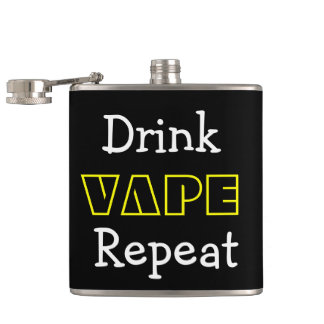 Funny Drink Vape Repeat Flask