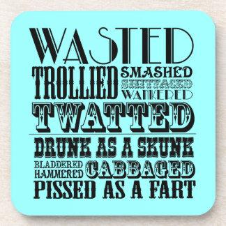 Funny drinking coaster