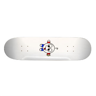 funny dude drawing skate board decks