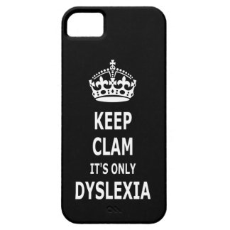 Funny dyslexia barely there iPhone 5 case