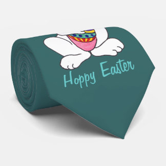 Funny Easter Bunny & Egg - Customizable Tie