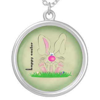 Funny Easter Bunny Necklace