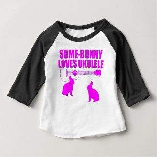 Funny Easter Ukulele Baby T-Shirt