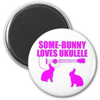 Funny Easter Ukulele Magnet