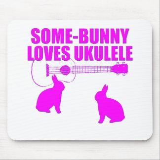 Funny Easter Ukulele Mouse Pad