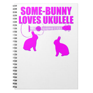 Funny Easter Ukulele Notebooks