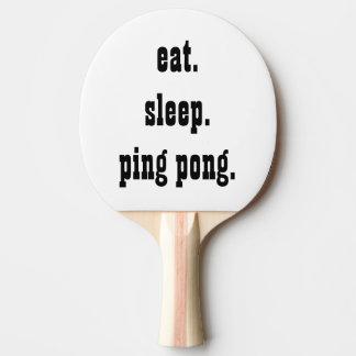 Funny eat sleep ping pong