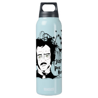 Funny Edgar Allen Poe Quote 0.5 Litre Insulated SIGG Thermos Water Bottle