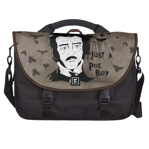 Funny Edgar Allen Poe Quote Laptop Bag