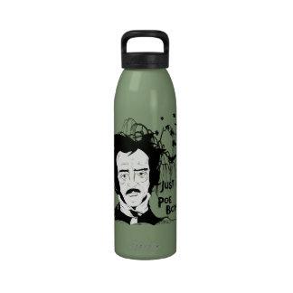 Funny Edgar Allen Poe Quote Water Bottle