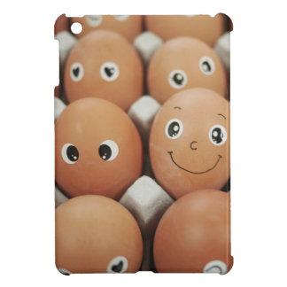 Funny Egg Faces - Breakfast Food Print iPad Mini Case