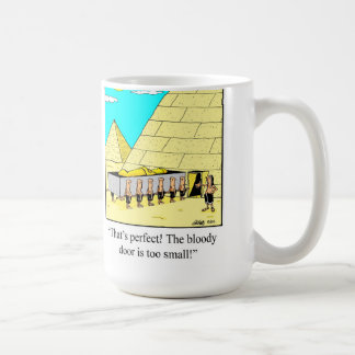 Funny Egyptian Pyramid Mug
