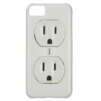 Funny Electrical Outlet iPhone 5C Case