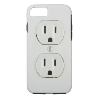 Funny Electrical Outlet iPhone 7 Case