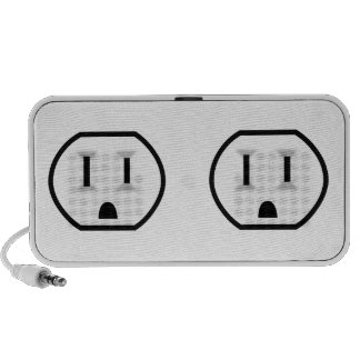 Funny Electrical Outlet Portable Speakers