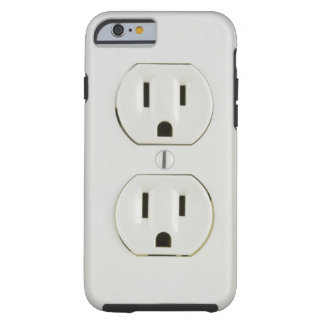 Funny Electrical Outlet Tough iPhone 6 Case