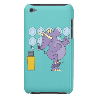 funny elephant in a china shop barely there iPod cover