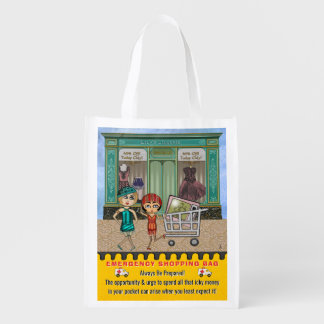 Funny Emergency Shopping Bag Personalized