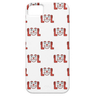 Funny Emoji Laughing Out Loud Pattern iPhone 5 Case
