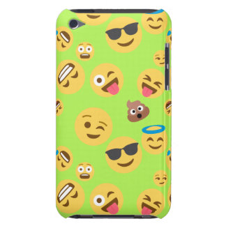 Funny Emoji Pattern (green) Case-Mate iPod Touch Case