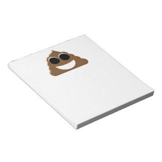 Funny Emoji Poo Notepad
