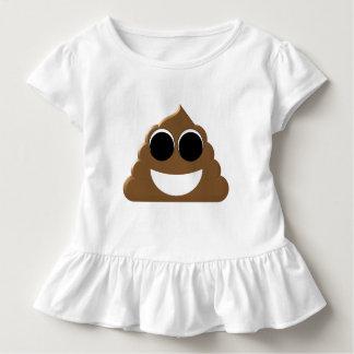 Funny Emoji Poo Toddler T-Shirt